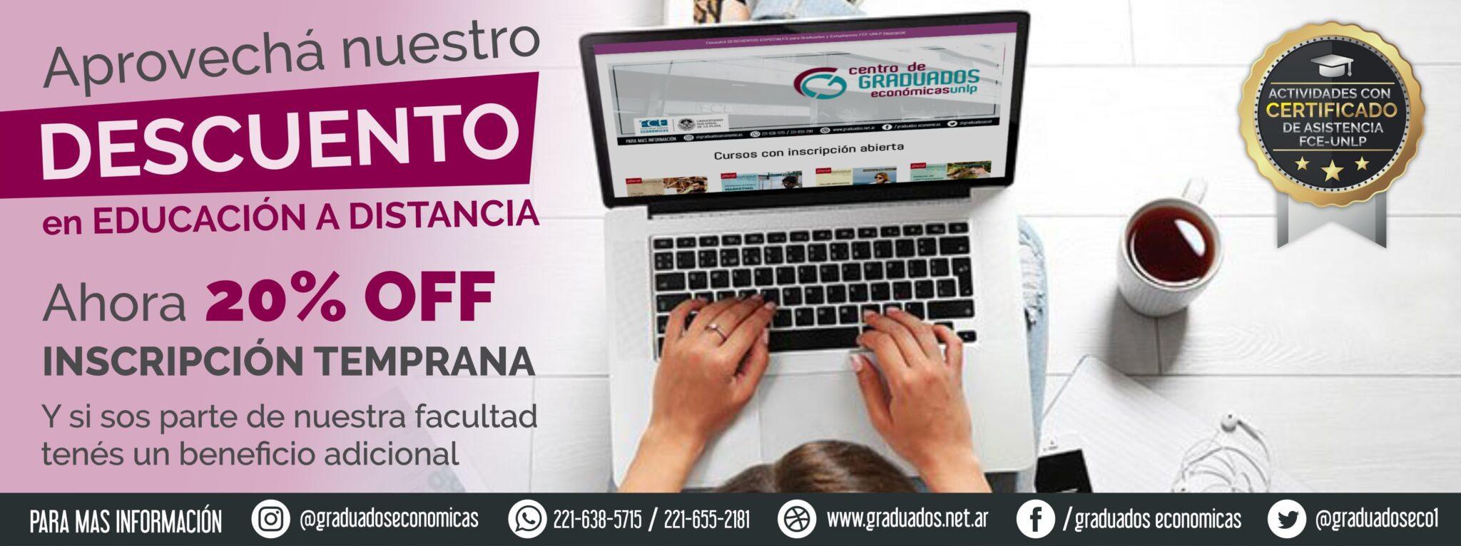 inscripcion temprana - 20% - banner